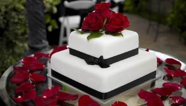 35 Bolos Delicados de Dois Andares Para Casamentos