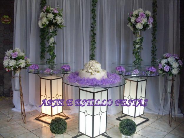 Decoracao De Sala Lilas ~ 20 Fotos de Decoração Lilás para Casamento – Fotos de Casamentos