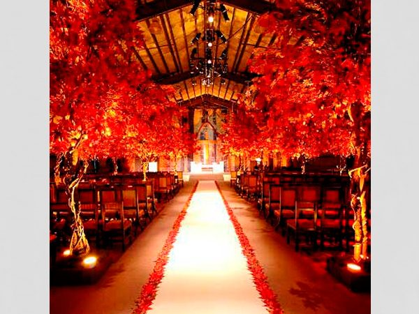 Decoração Vermelha para Casamento – 16 Fotos