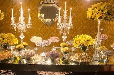 24 Fotos de Decoração Amarela para Casamento