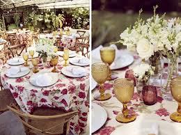 Decoração floral para casamentos