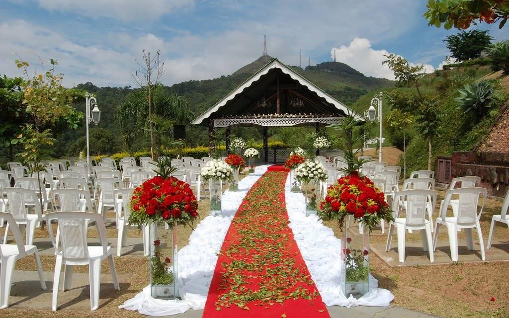Decoraç u00e3o de Casamento em Sítio u2013 Fotos de Casamentos -> Decoração Para Festa De Casamento Em Sitio A Noite