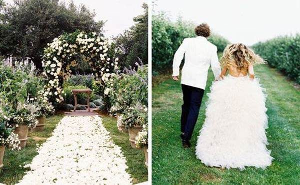 Fotos de Casamento no Jardim