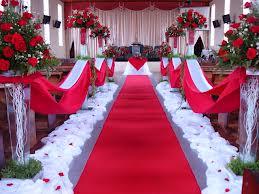 Fotos de Casamento Branco e Vermelho