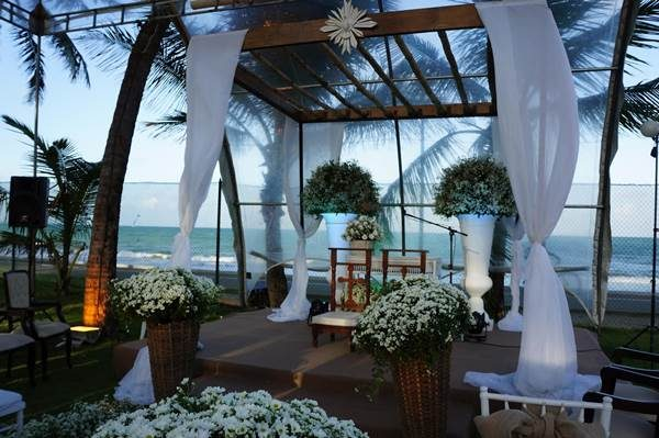 Fotos Deslumbrantes de Casamentos à Beira Mar