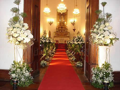 Decoraç u00e3o Igreja Simples 2 u2013 Fotos de Casamentos -> Fotos Decoração De Igreja Para Casamento Simples