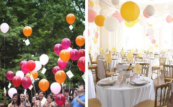 Casamento com Balões