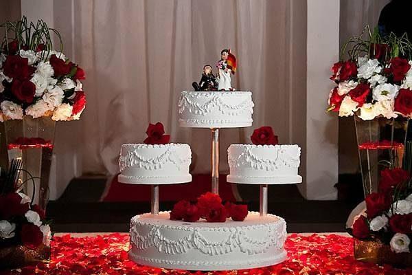 30 Casamento provençal vermelho e branco