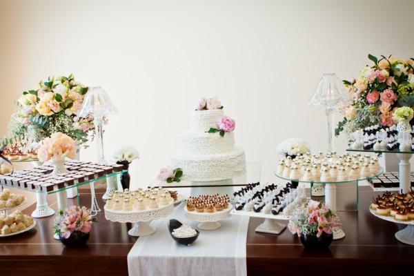 Mesas de bolo decoradas para casamento simples u2013 Fotos de Casamentos -> Decoração De Mesa Do Bolo Para Casamento Simples