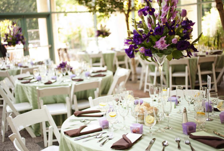 mesas-casamento-verde-lavanda