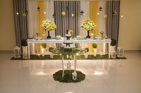 Armario Tela Aki ~ Casamento Amarelo e Preto 20+ Fotos u2013 Fotos de Casamentos