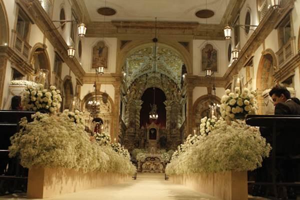 Foto: Dayvison Nunes/JC Imagem Data: 17/03/2012 Assunto: SOCIEDADE - Casamento de Camila Coutinho e Diego Nunes.